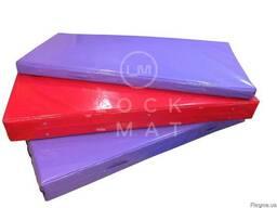 Гимнастический мат в чехле ПВХ 2м х 1м, толщина 10 см