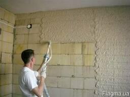 Гипсовая машинная штукатурка стен