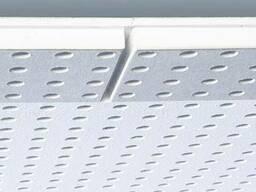 Гипсовая звукопоглощающая плита, квадратная перфорация