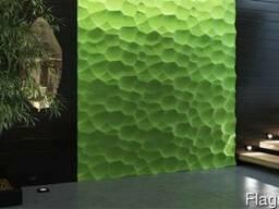 3D панели «Ракушки». Гипсовые 3Д панели ЭкоЛидер.