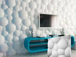 Гипсовые 3D панели «Пузыри»