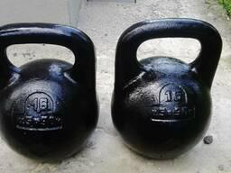 Гири чугунные 8 кг(550грн), 16 кг(700грн), 24 кг(750грн), 32