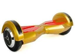 "Гироборд-скутер электрический. 4400 мАч, колеса 8"". Gold. .."