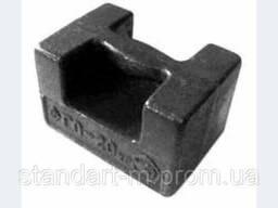 Гиря образцовая (эталонная) ГО-4-20
