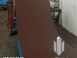 Гладкий лист с полимерным покрытием, окрашенный гладкий лист