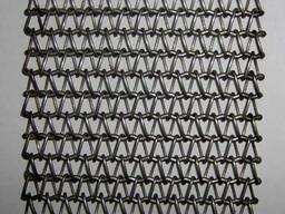 Глазировочные конвейерные сетки со спиральным плетением