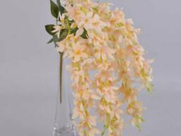 Глициния свисающая персиковая 60 см Цветы искусственные