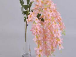 Глициния свисающая розовый кварц 60 см Цветы искусственные
