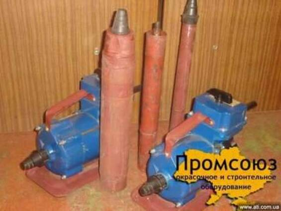 Глубинный вибратор ИВ-116 (комплект)