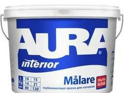 Глубокоматовая краска для потолков Aura Interior Malare 9л