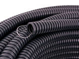 Гофриротруба для электропроводки черн d20мм - фото 1