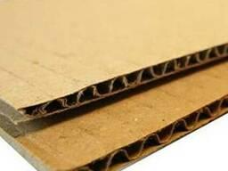 Гофрокартон трехслойный-листовой
