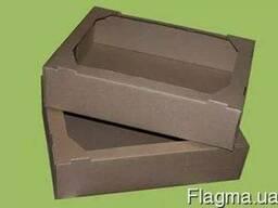 Гофрокоробка для пиццы гофрокоробки и лотки сложной высечки