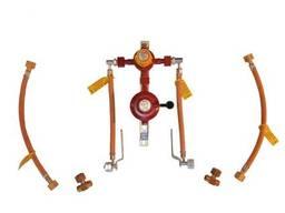 GOK Рампа пропанова на 4 балона 6кг/год 50 mbar AG GF (автоматична робочий та. ..