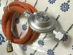 GOK Газовий комплект для гриля -30C* Shell СНД 29 (30) мбар вихід 1/4 ліва 1 метр 0428