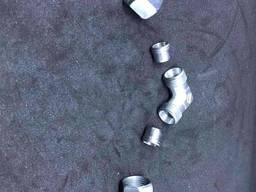 Німеччина Кут з'єднувальний газ W-RVS10 x RVS10 для зєднання труби діаметром 10мм 0770900