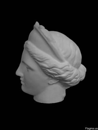 Голова гипсовая Венера Капуа (в кокошнике).