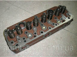 Головка блока цилиндров Д-240. 243 МТЗ-80 в сборе. ..