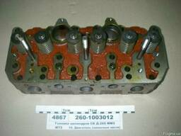 Головка блока цилиндров ГБЦ Д-260 МТЗ-1221 в сборе 260-10030