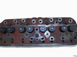 Головка блока цилиндров ГБЦ ЮМЗ-6, Д-65 в сборе с клапанами