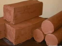 Гончарная глина, красная глина для поделок, глина для гончар