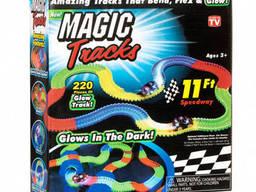 Гоночная трасса конструктор Magic Tracks 220 деталей +. ..