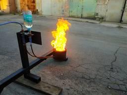 Горелка на отработке и воде 5-60 кВт