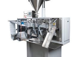 Горизонтальная машина для фасовки сыпучей порошковой продукции в пакет саше