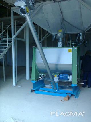 Горизонтальный смеситель кормов NHM 1200