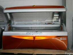 Горизонтальный солярий MegaSun 4000 Turbo ULTRA POWER