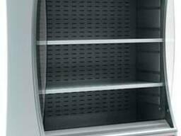 Горки холодильные пристенные витрины Carboma