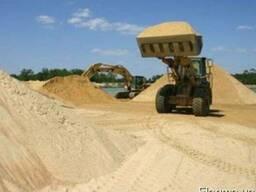 Горный или карьерный песок