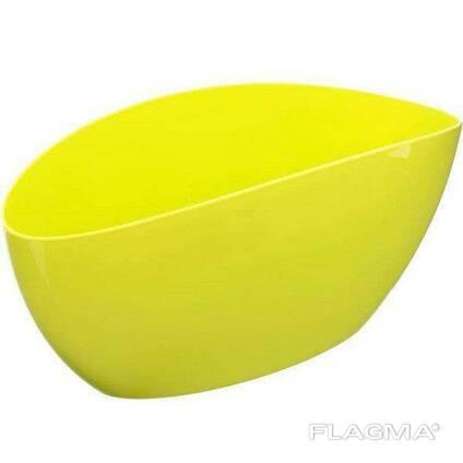 Горшок кашпо «ЛУНА», лимонный