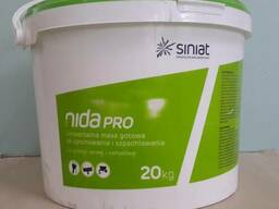 Готовая Nida Pro финишная шпаклевка Нида Про Siniat