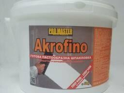 Готовый финищная акриловая шпаклевка Gbc Akrofino - 25 кг