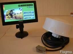 Gps система параллельного вождения agricourse pd