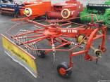Грабалка для сена валкообразовательная роторна Pottinger 3.3 - фото 2