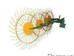 Грабли ворошилки ( солнышко ) 4-ёх колёсные к мотоблоку