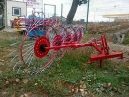 Грабли ворошилки 5 колёс - фото 3