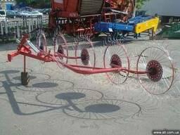 Грабли ворошилки (солнышко) навесные 5-ти колесные