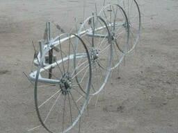 """Грабли-ворошилки (""""солнышко"""") ТМ Ярило (2, 5 м, 4 колеса)"""
