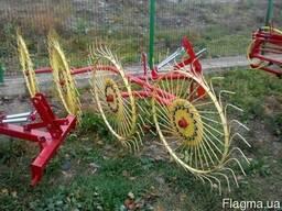 Грабли-ворушилка (валковые) на 4 колеса - фото 2