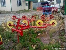 Грабли-ворушилка (валковые) на 4 колеса - фото 3