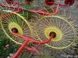 Грабли-ворушилка (валковые) на 4 колеса - фото 4