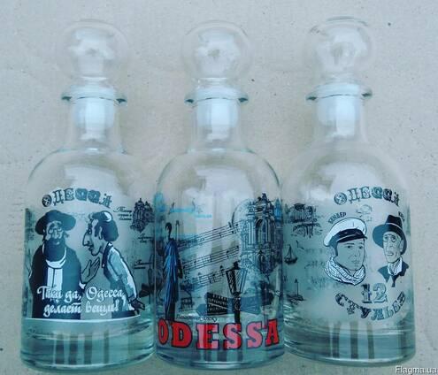 Графины для водки, сувениры, сувениры из Одессы, море.