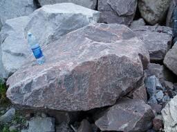 Гранит, песчаник, Бут, камень - фото 3