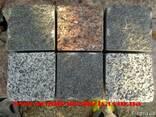 Гранитная колотая брусчатка габбро 10*10*5 - фото 4