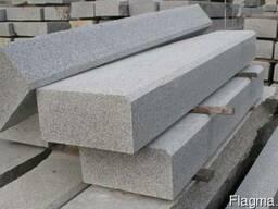 Гранитный бордюр, гранитная плитка, изделия из гранита