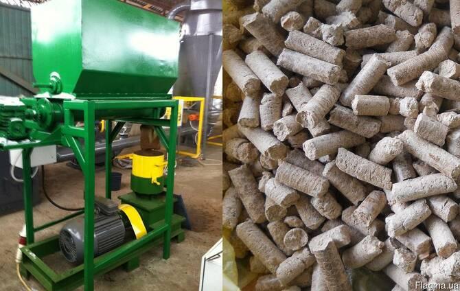 Гранулятор отходов сельського хозяйства 500 кг/час