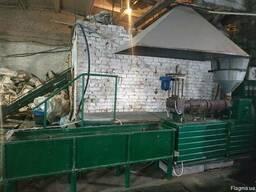 Линия переработки вторсырья полимеров отходов гранулы ПВД ПП